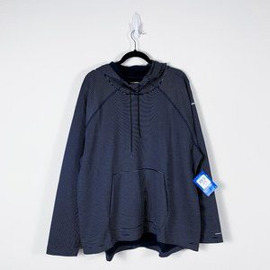 Columbia - NWT UPF 50 Striped Hoodie Plus Size 3X